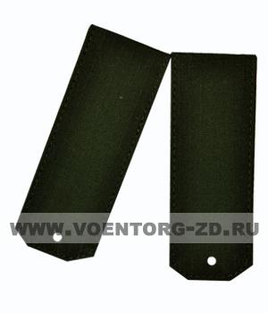 Погоны для офисного костюма зеленые чистые ткань рип-стоп на пластике