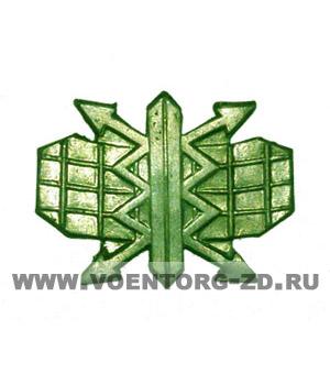 Эмблема РТВ ВВС (Радио-технические войска) защитная