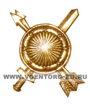 Эмблема РВСН (новая) золотая