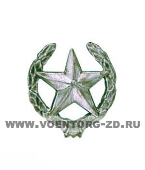 Эмблема Сухопутных войск (старая) защитная, золотая