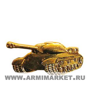 Эмблема Танковые войска (левая и правая новая) золото