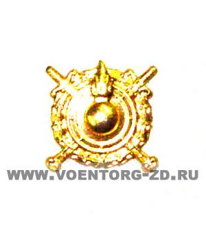 Эмблема ВВ МВД (внутренние войска) золотая