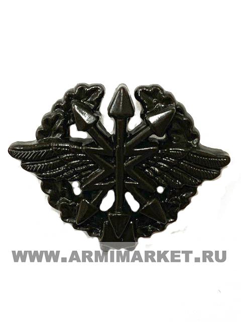 Эмблема Войска связи (старая в венке) защитная пластик