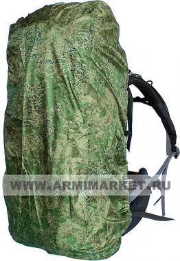 Накидка на рюкзак цифра зеленая ( 30-50 л )