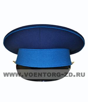 Фуражка ВВС, ВКС темно-синяя, голубой околыш и кант р.53-62