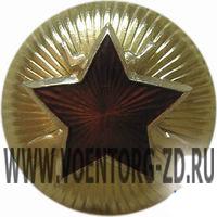 Звезда ВОХР сборная (красная звезда с ружьями)