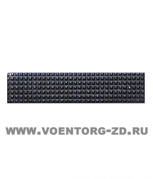 Знак различия ФСИН ефрейтор черный (полоска 10*45)