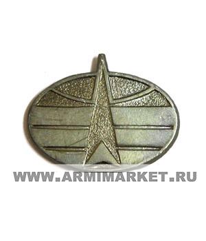 Эмблема Космические войска защитная