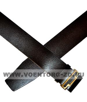 Ремень коричневый солдатский кожаный р.1,2,3