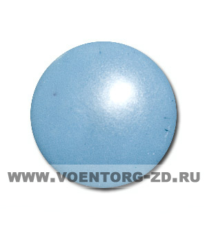 Пуговица на ножке (грибок) С 92-120-14 серо-синяя
