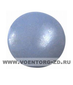 Пуговица на ножке (грибок)d14, серо-голубая аминопласт.