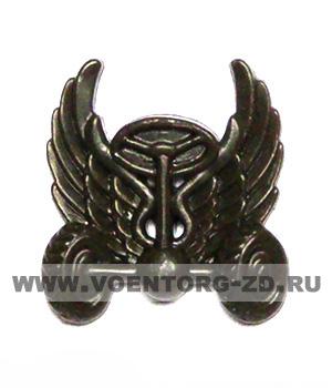 Эмблема Автомобильные войска (новая) защитная пластик