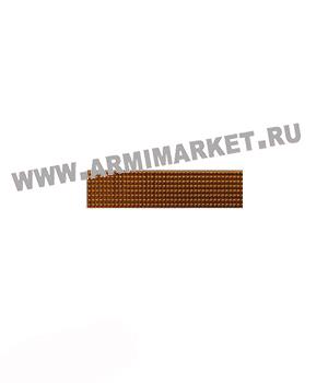 Знак разл. МВД ефрейтор (полоска 10*45) золотой/серебро пластик