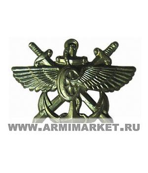 Эмблема СВС (Службы военных сообщений) новая защитная