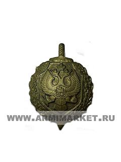 Эмблема ФСБ с орлом защитная