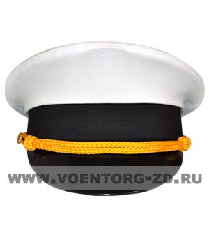 Фуражка МО штабная белая р.54-62