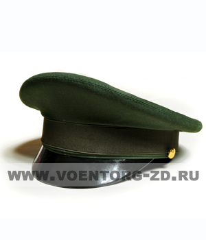 Фуражка МО штабная оливковая р.54-62