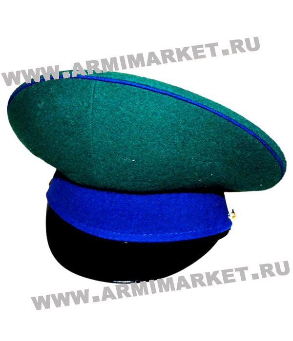 Фуражка ФПС ФСБ новая зеленая, васильковый околыш и канты р.54-62