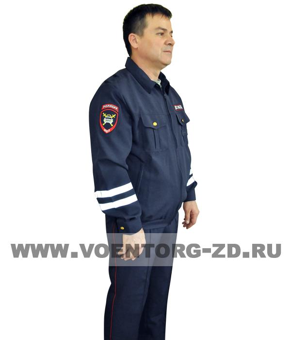 Костюм ДПС Полиция летний р.44-64 (тк. Габардин)