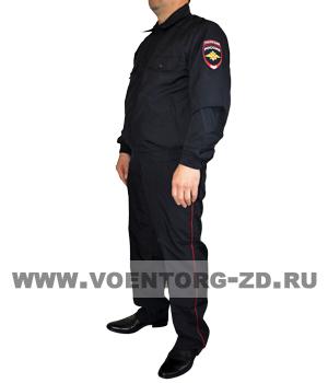 Костюм Полиции летний из габардина р 44-60
