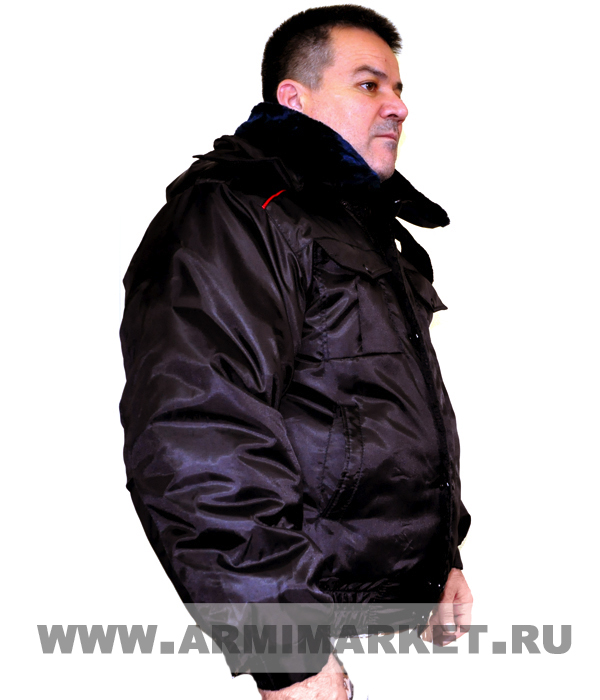 Куртка Полиции оперативка зим.(верх -ткань оксфорд, синтепон) р.40-58 без нашивок