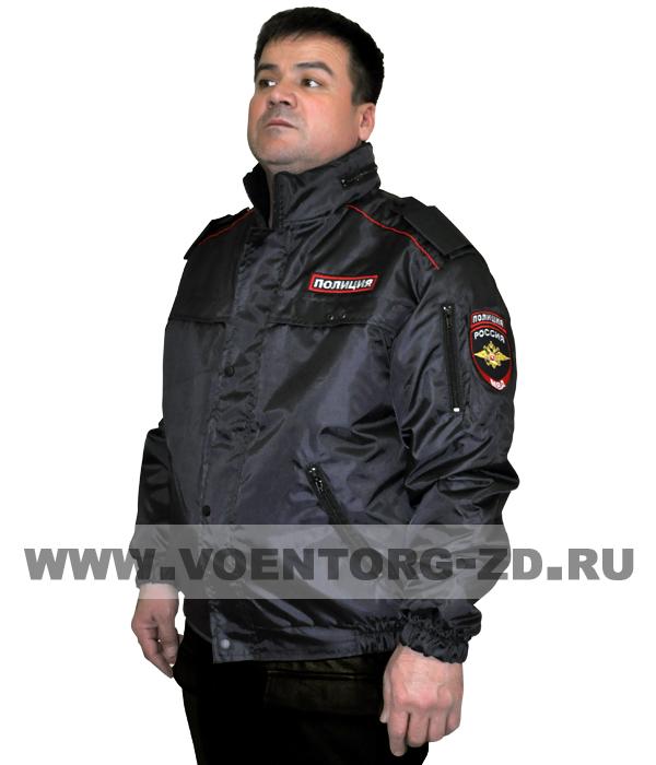 Куртка ПОЛИЦИЯ короткая на термостёжке 44-62