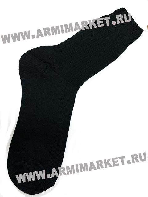 Носки арт. Н 001 (С 59)  х/б 100% , черные  р 25-31