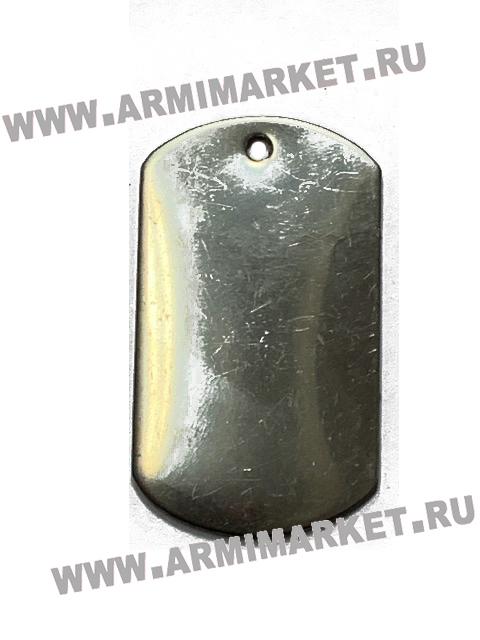 30033 жетон чистый стальной 50*30 мм