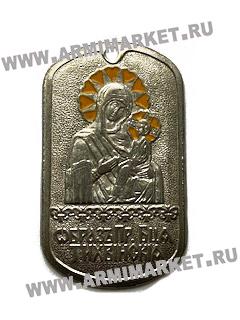 """30096 Жетон """"Образ Преподобной Тихвинской"""""""