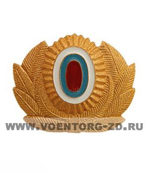 Кокарда МВД с эмблемой большая
