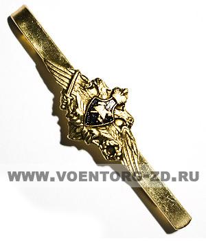 """Зажим для галстука МЧС """"Пожарный"""" (каска)"""