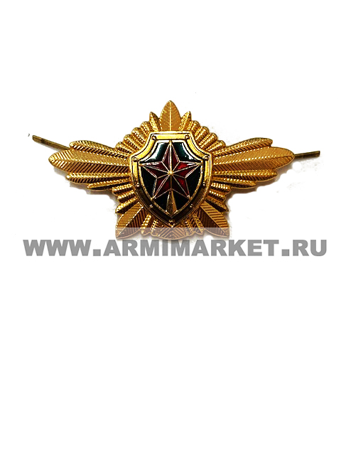 Эмблема ФСО на пилотку (звезда, щит)
