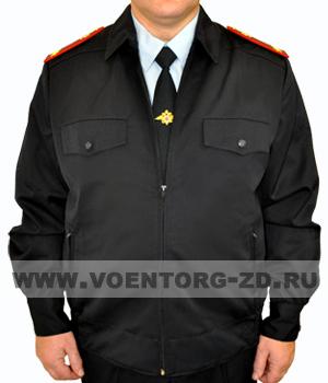 Куртка синяя форменная ПОЛИЦИИ муж.п/ш, на молнии р.42-62
