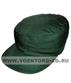 Кепка к штабному костюму зеленая тк. Рип-стоп р.55-61