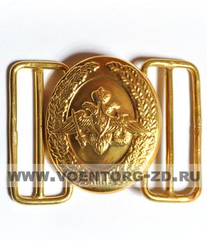 Пряжка для парадного офицерского ремня с орлом МО овальная