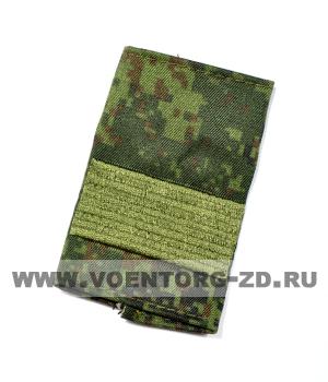 Фальшпогоны кмф цифра вышитые старший сержант (галун зеленый)