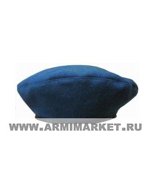 Берет голубой р.53-60 (с)