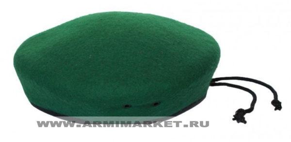 Берет зелёный бесшовный ГОСТ р.54-61