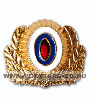 Кокарда Следственного комитета РФ на околыш (астаф)