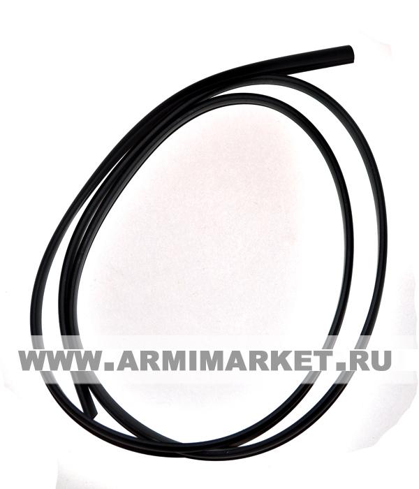 заготовка (1 метр) для медальных планок пластик, черная ширина 8 мм