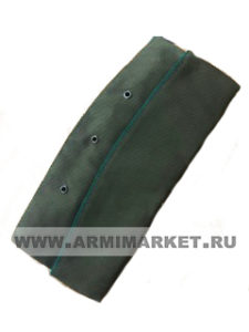 Пилотка для офиц. состава ПВ (оливковая, зеленый кант) р.54-58