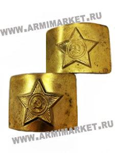 Пряжка со звездой латунь, СССР, обработанная кислотой, РАСПРОДАЖА